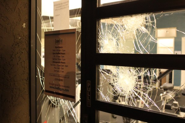 The attacks happened Friday night, following a shooting involving SFPD officers Thursday night. Photo by Mateo Hoke.