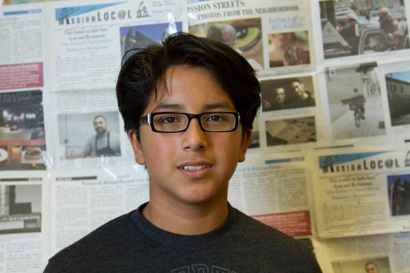 7th grade student Luis A. Gómez.