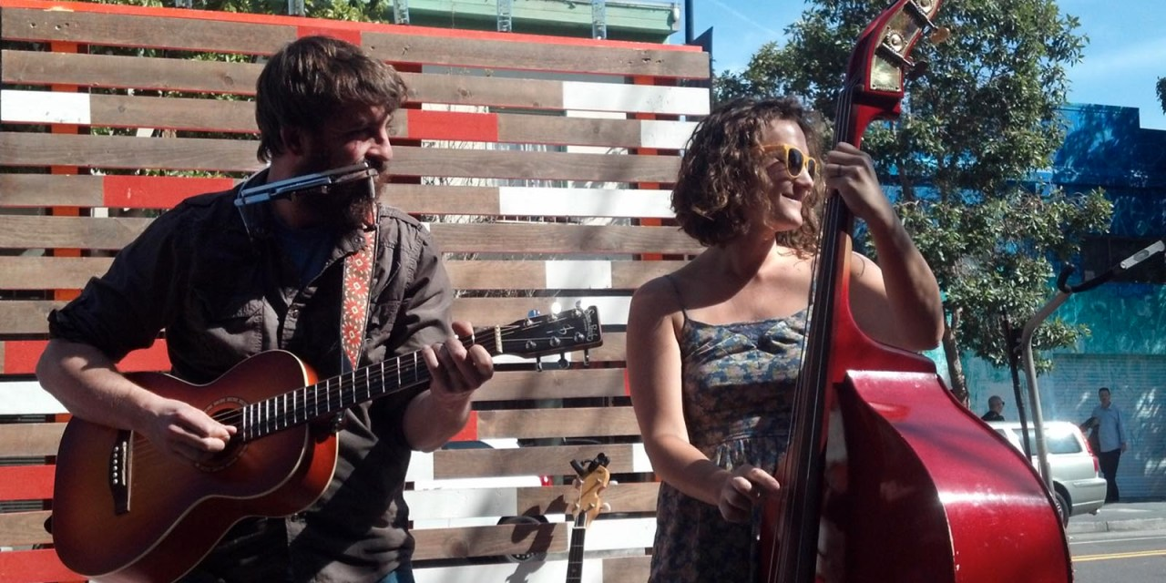 Street Stage Carves Out Space for Public Performers