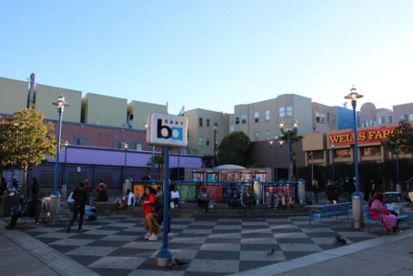 The 16th Street Plaza. 2013