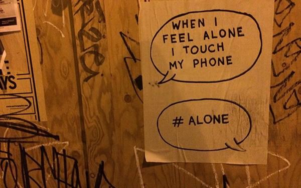 SNAP: #alone