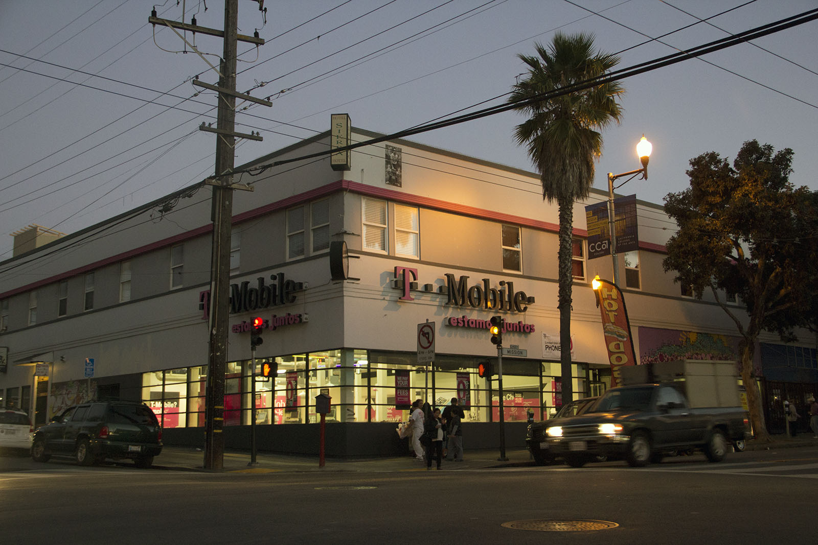 T-Mobile, a chain store that slipped through the cracks of previous formula retail regulation.