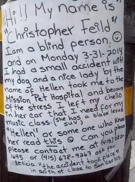 Missing Cello