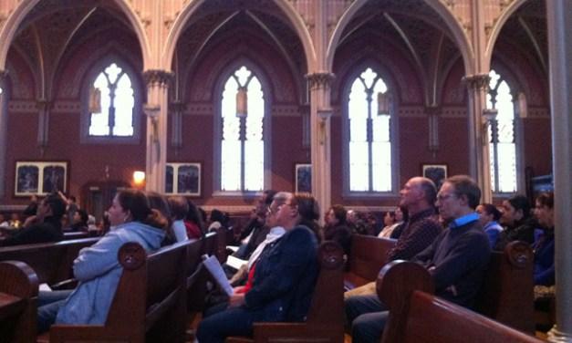 Vigil at St. Peter's Church Draws Hundreds