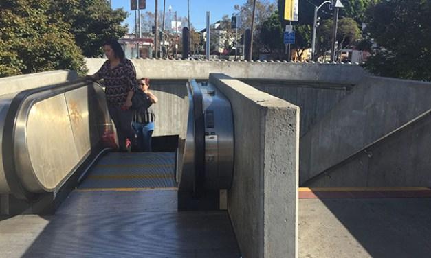 The World Turns, So Too the 24th Street Escalator