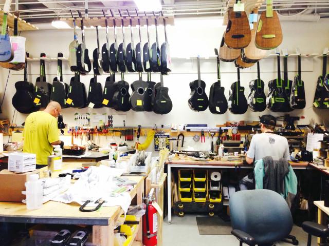 Folsom St. Company Builds Carbon Fiber Guitars