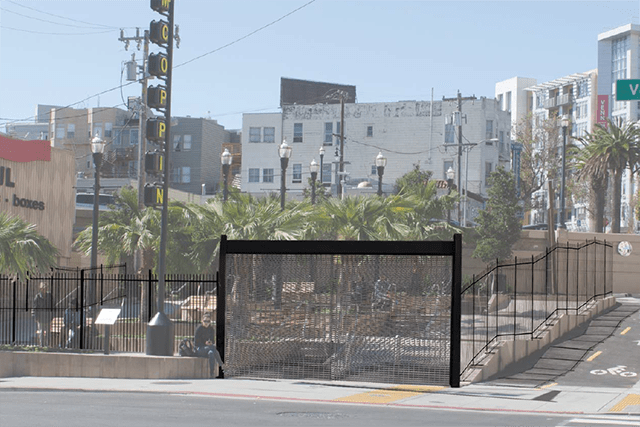 McCoppin Hub Will Be Fenced to Keep Out Homeless