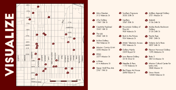 Maps: Art in the Mission