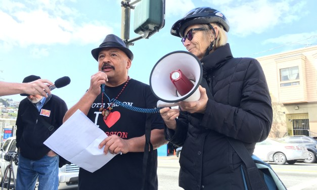 """Activists Fire Shot Across Bow of """"Titanic Mess on South Van Ness"""""""