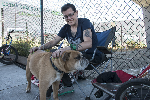 High Rents Keep SF Homeless on the Street, Various Ties Keep Them Here