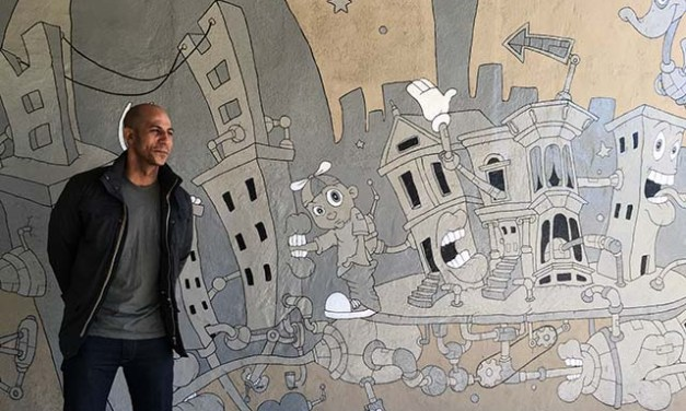 "SF Artist Plans a Mural ""The Disruption"""