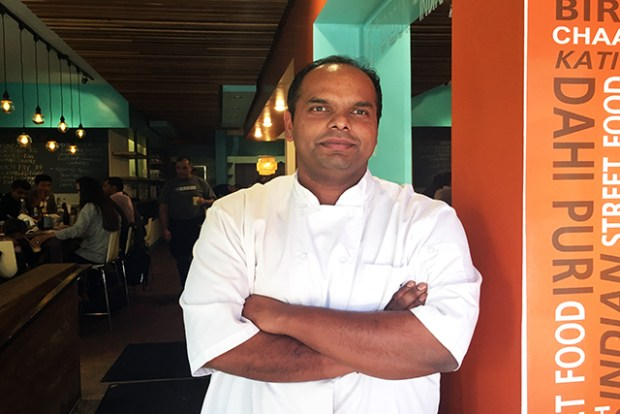 Rupam Bhagat's restaurant dream began with a food truck. Photo by Laura Waxmann