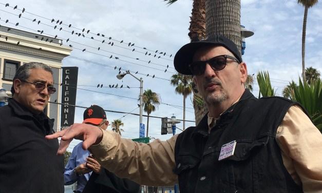 Pigeon Poop Begone, Says BART Board Candidate