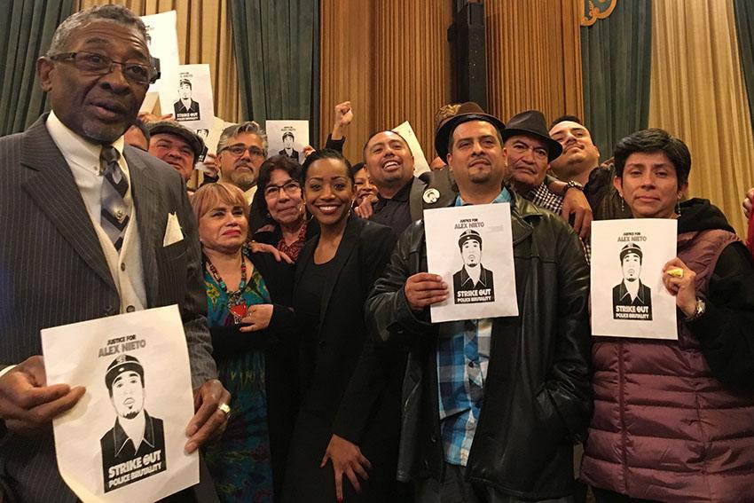 San Francisco Supervisors Approve Memorial for Alex Nieto, Shot by SFPD