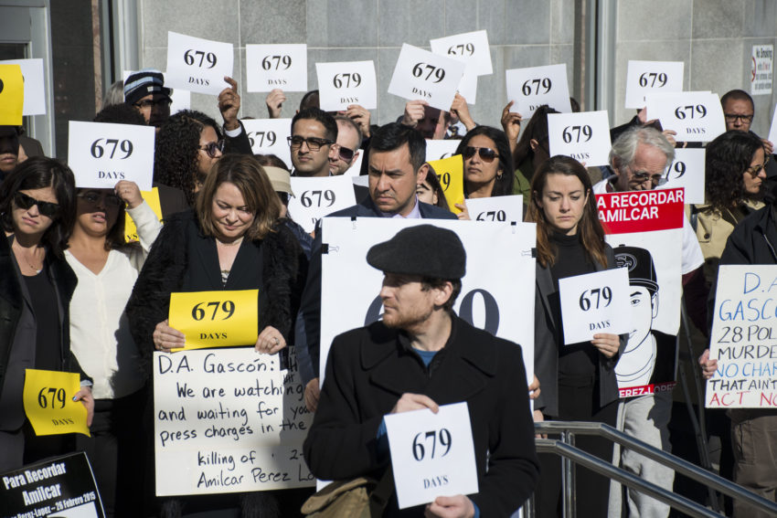Mission Activists Push DA for Charges 679 Days After Police Shooting