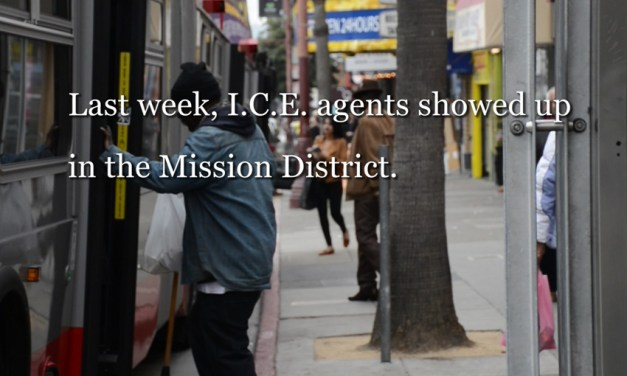 VIDEO: As Immigration Agents Appear, SF's Mission Prepares