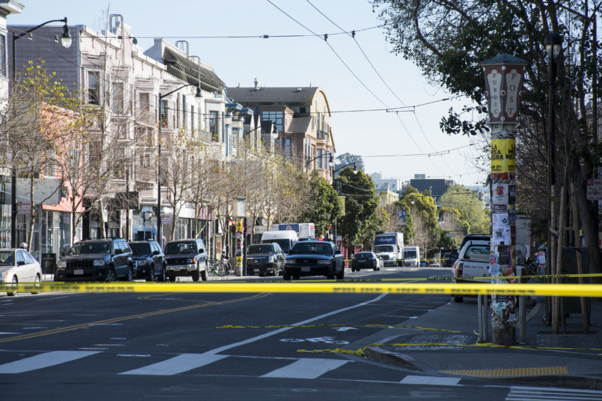 Armed suspect barricaded in San Francisco's Mission District