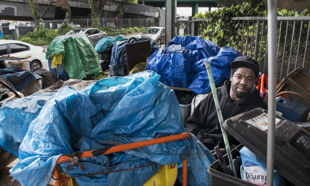 Freeway's 'Hairball' community uprooted by state agency