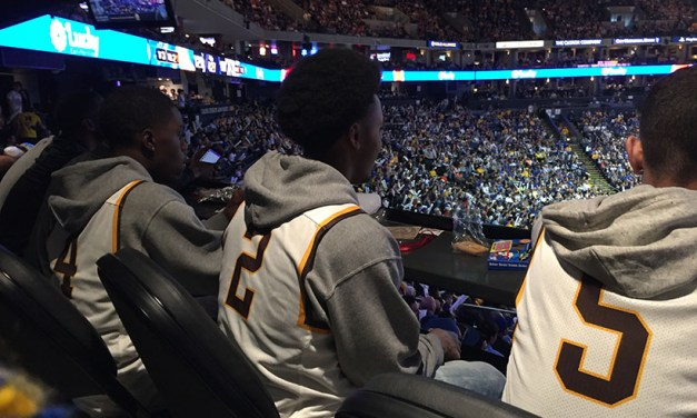 Mission High School team honored by Warriors