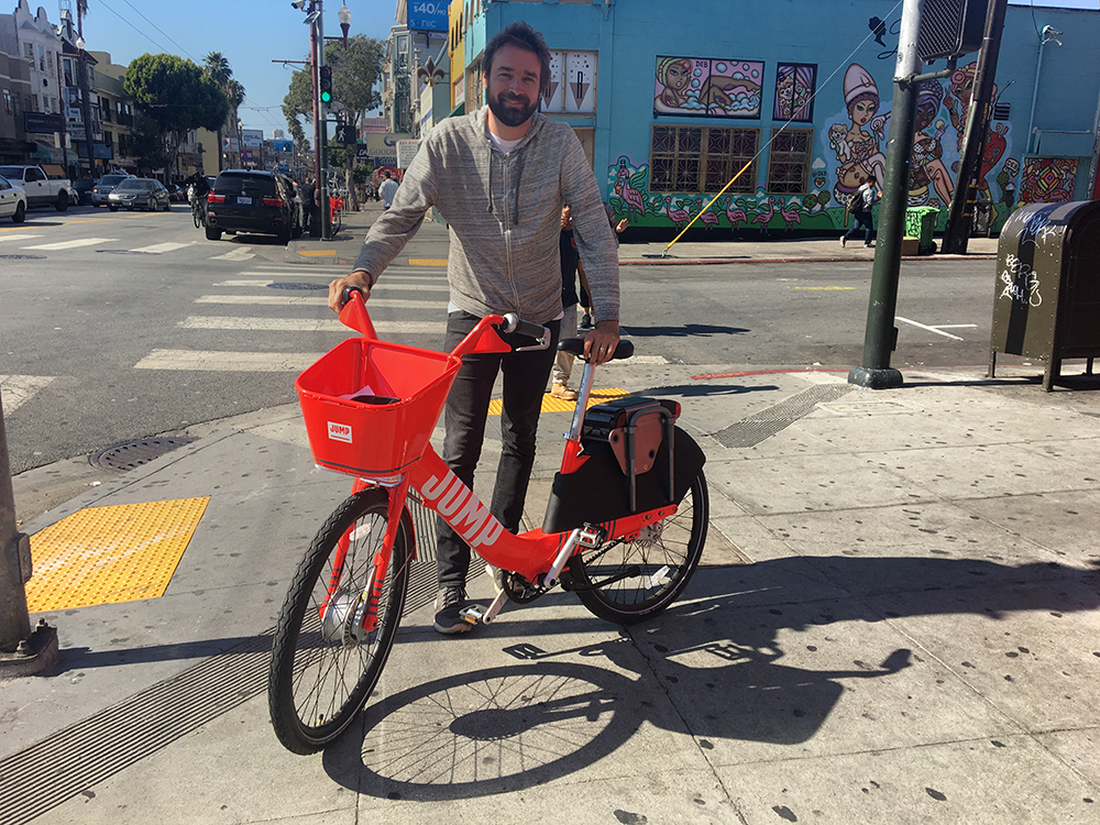 Electric Station Less Bike Share Program Starts To Roll