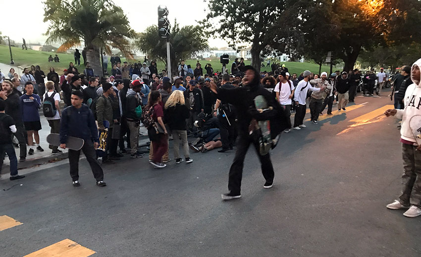 Officer, skateboarder hurt after mob incident at San Francisco's Dolores Park