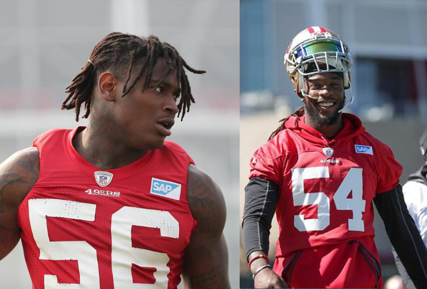 Pair of San Francisco 49ers players outthink, outrun would-be armed robbers