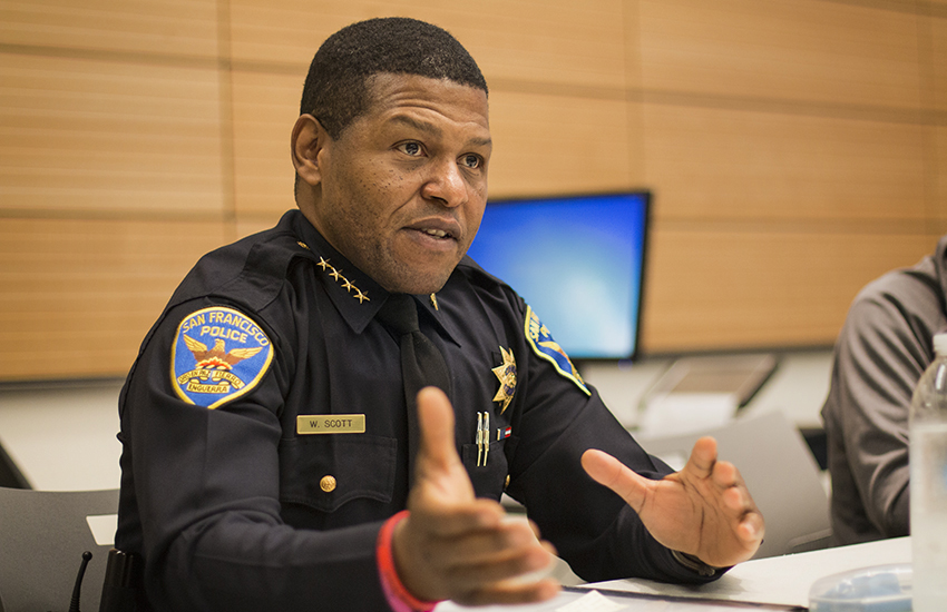 SF police chief Scott rejects Taser measure, enrages police union — and salvages any claim to being a 'reformer'