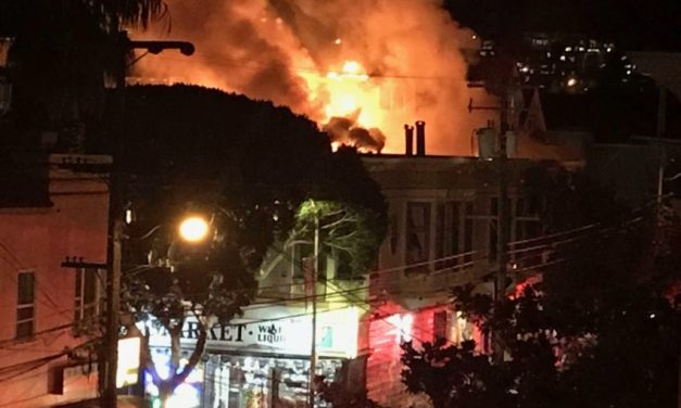 Fire erupts and displaces 11 tenants from buildings on Shotwell St.