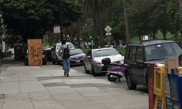 Scooters are the mess that San Francisco made for itself