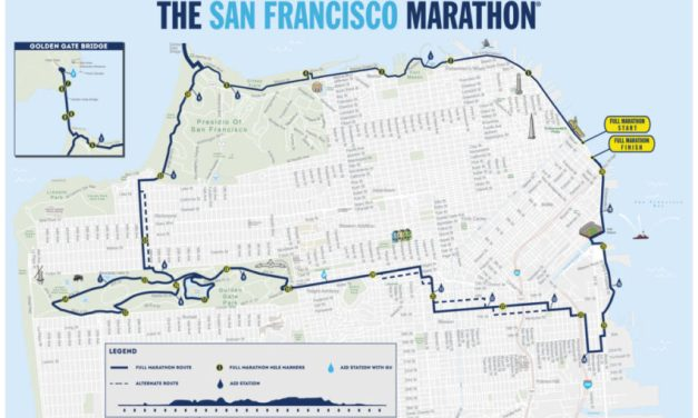 The SF Marathon is on Sunday — here is your map