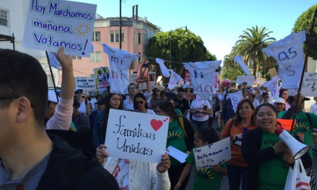Thousands in SF march to end family separations at the border