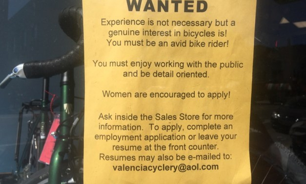 Jobs: A job at Valencia Cyclery