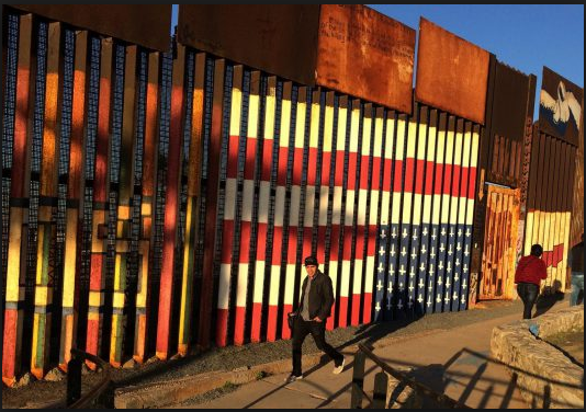 San Francisco Mission artist pushing back after feds broach possibility of removing his border mural