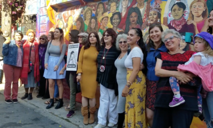 'Women of the Resistance' mural unveiled in Balmy Alley with weekend party (video)