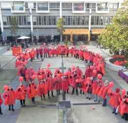 Flashmob journée de lutte contre le sida