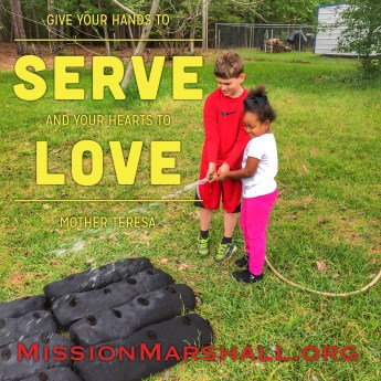 Love Where You Live - Mission Marshall - Family Garden Initiative