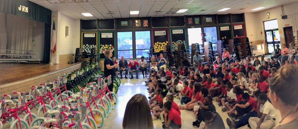 Read to Ride - Mission Marshall - J.H. Moore Elementary Marshall, TX - Misty Scott Executive Director of Mission Marshall