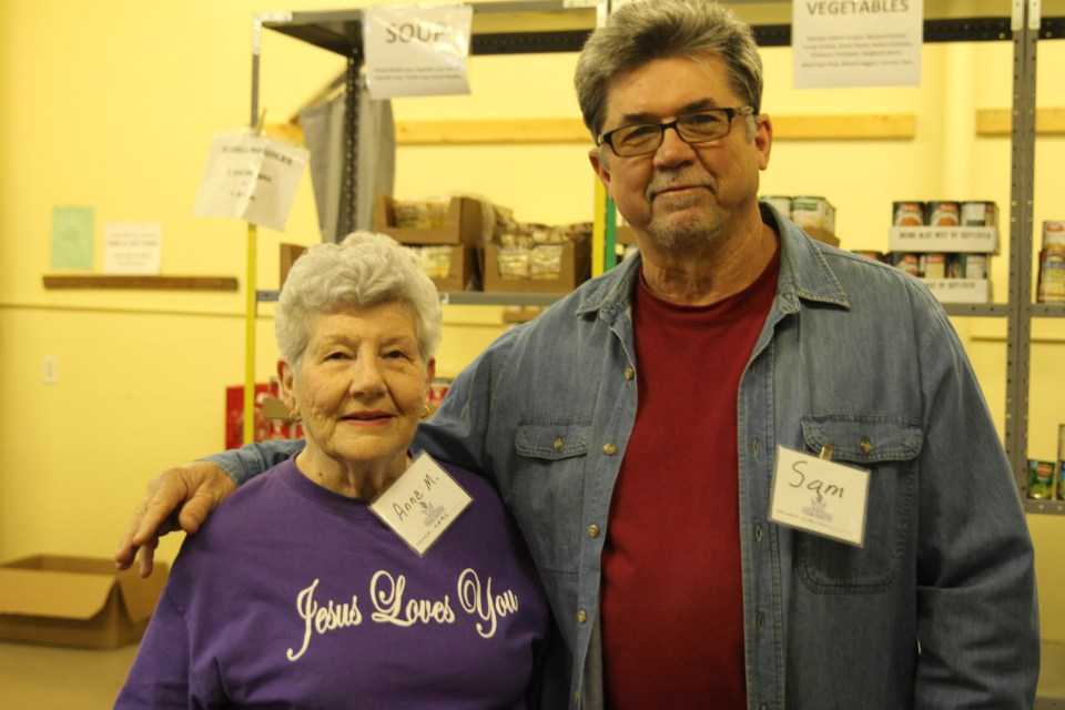 Mission Marshall Food Pantry Volunteers