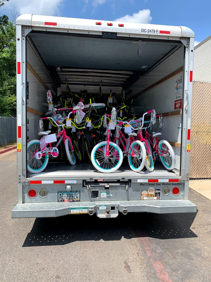 Read to Ride 2019 - 50 Bicycles to Crockett Elementary