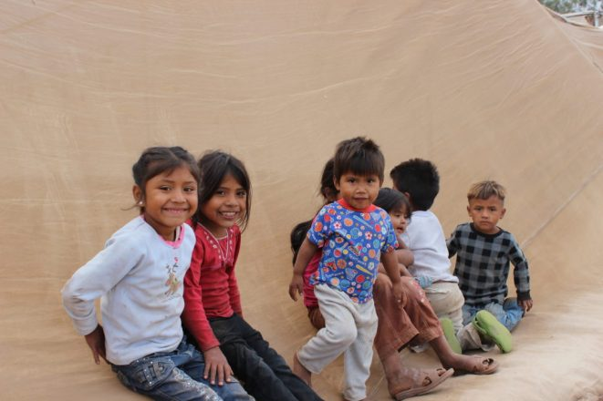 Migrant Camp Kids lower camp Oct 2013