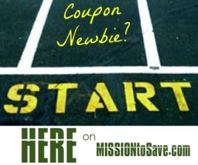 coupon newbie start here