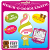 "Menchie's Facebook App, Mench-O-Doodlematic= Earn ""Smiles"" Toward Free Menchie's!"