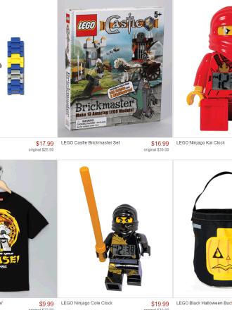 LEGO Deals on Zulily