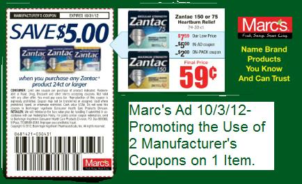 """""""Marc's Coupon Policy"""""""