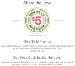 Ibotta $5 Bonus