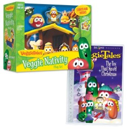 Veggie Tales Nativity Set