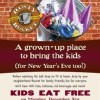 Rusty bucket kids eat free New Years eve