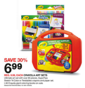 Target Crayola Coupons