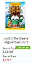 VeggieTales Lord of the Beans
