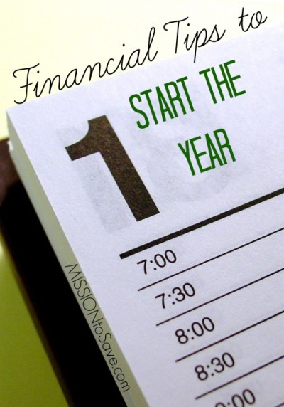Time to think about some Financial Tips to Start the Year. Are you on budget?